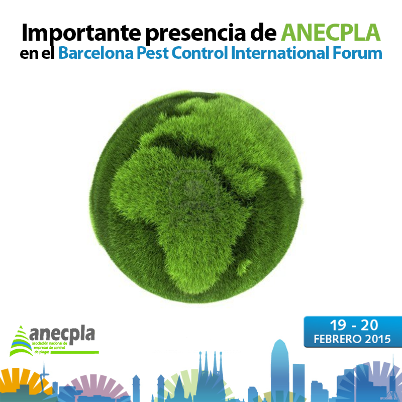 <p>ANECPLA participa en el Barcelona Pest Control International Forum</p>