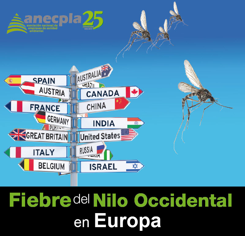<p><strong>FIEBRE DEL NILO OCCIDENTAL EN EUROPA</strong></p>